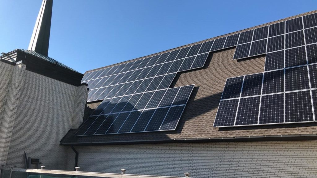 The St. Michael's Solar Panel Project